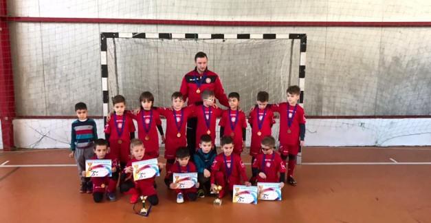 Grupa 2009 câștigă locul I la Cupa de iarnă Simeria!